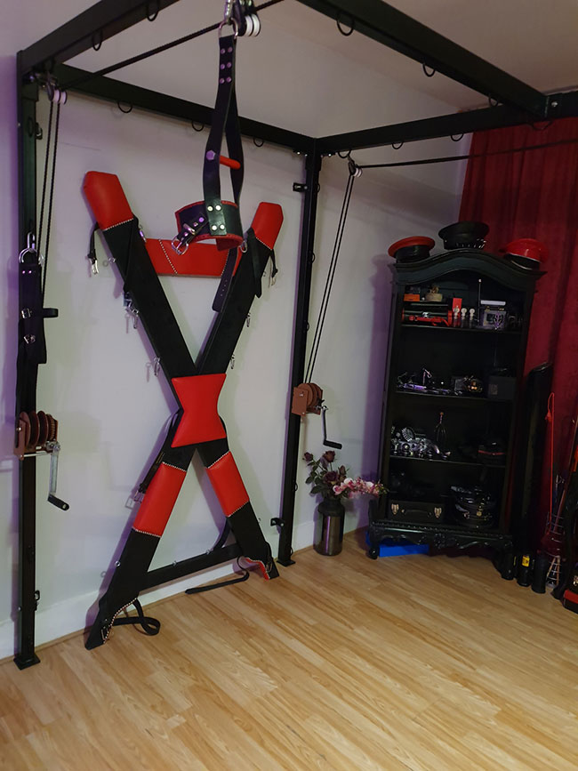 st andrews cross  bdsm